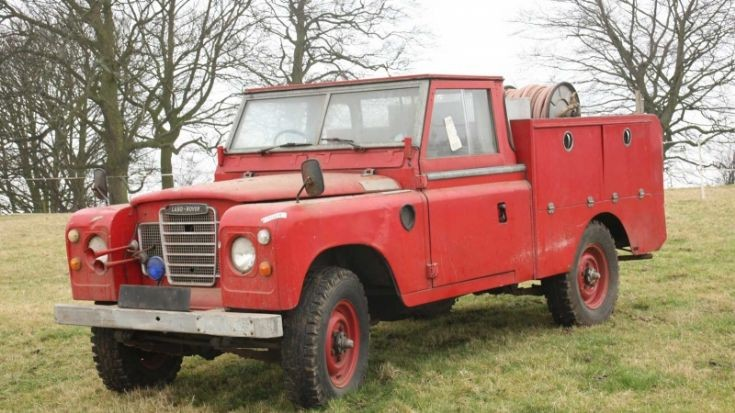 Land Rover / HCB Angus Fire Engine