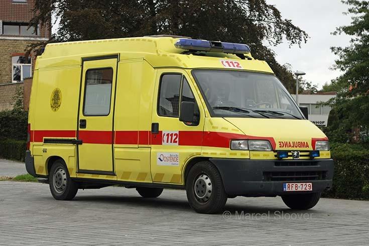 Brandweer Oostende Ambulance Peugeot