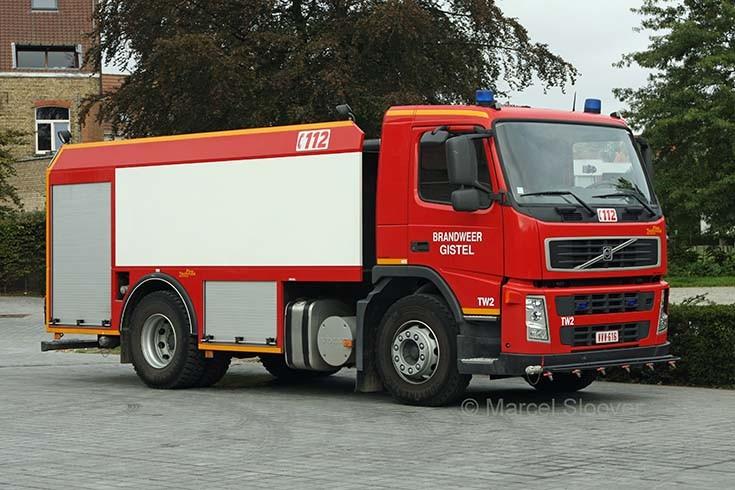 Brandweer Gistel Volvo FM9 water carrier