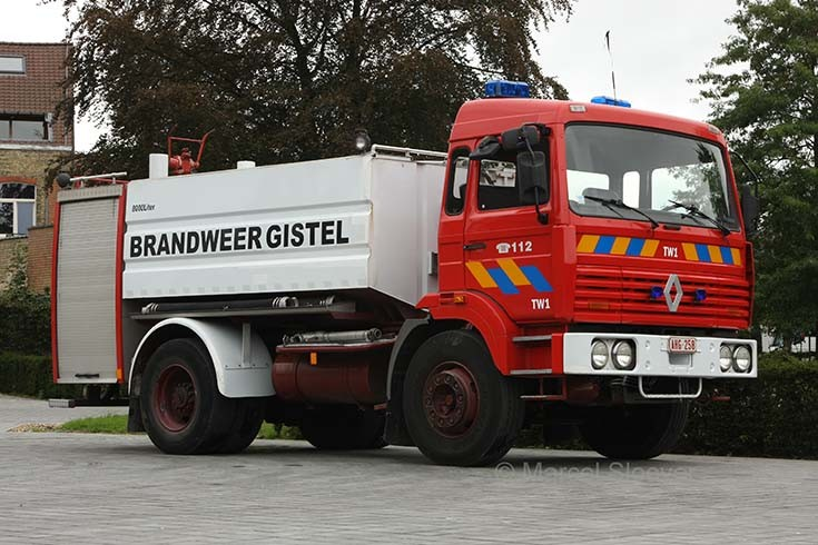 Brandweer Gistel Renault TW1 water carrier