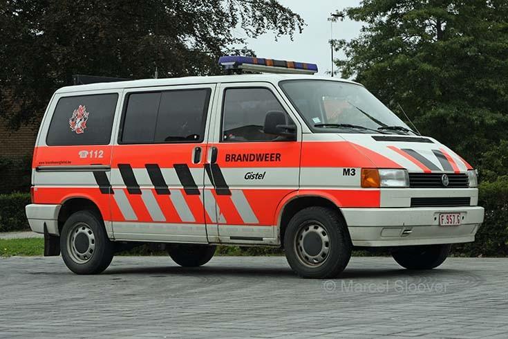 Brandweer Gistel Volkswagen Transporter T4