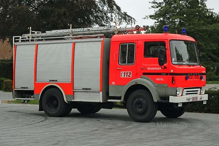 Brandweer Gistel Dodge Rosenbauer
