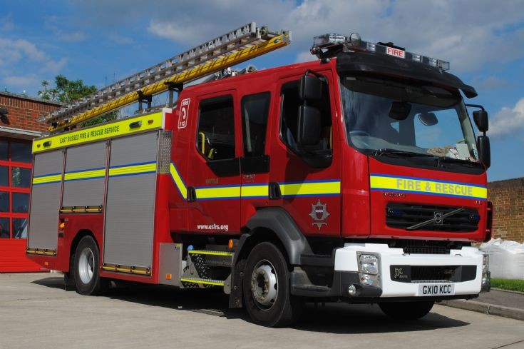 East Sussex Fire & Rescue Service GX10 KCC