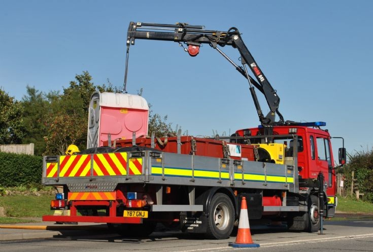 East Sussex Fire & Rescue Service Y87 GNJ