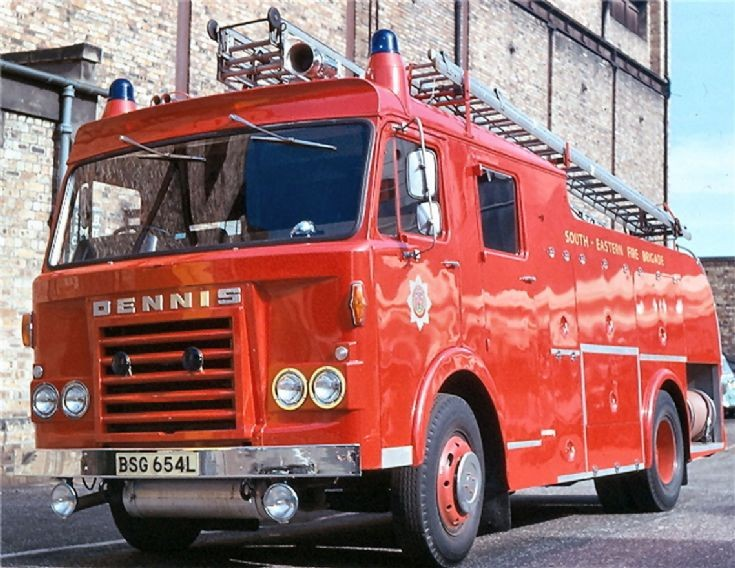 Dennis Water Tender Ladder