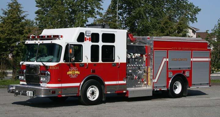 Surrey, BC new Engine 8