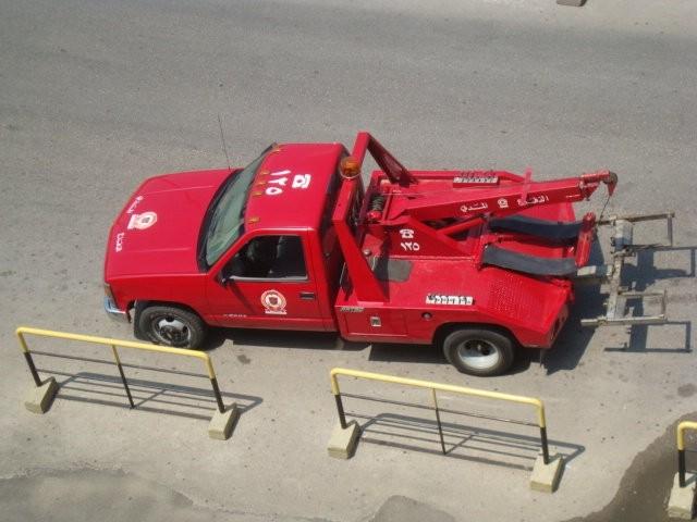 Rescue crane- Lebanese Civil Defense