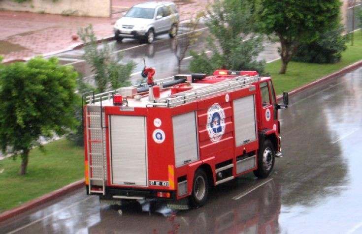 Ford Cargo Fire truck Antalya Turkey