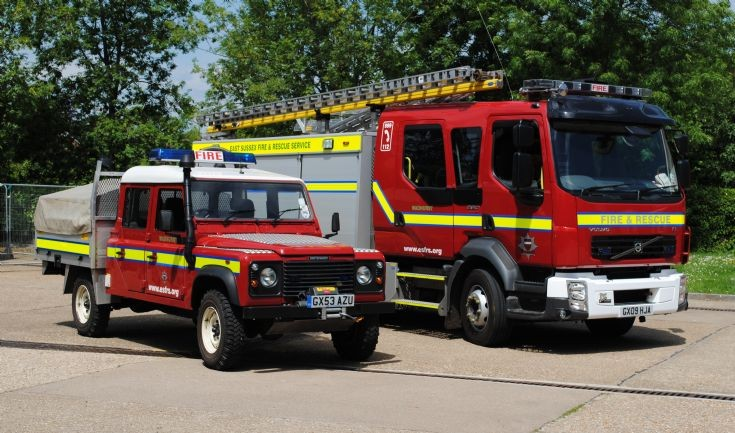 East Sussex Fire & Rescue Service Wadhurst Pair