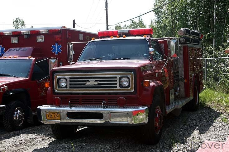 North Pole Fire Engine 3 Chevrolet