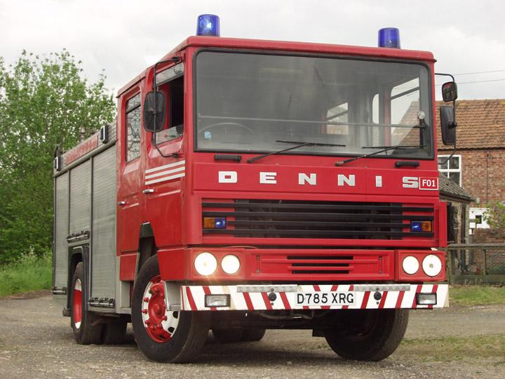 Dennis SS Fire Appliance
