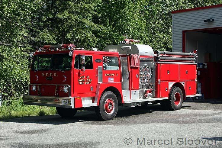 North Pole Fire dept Engine 2