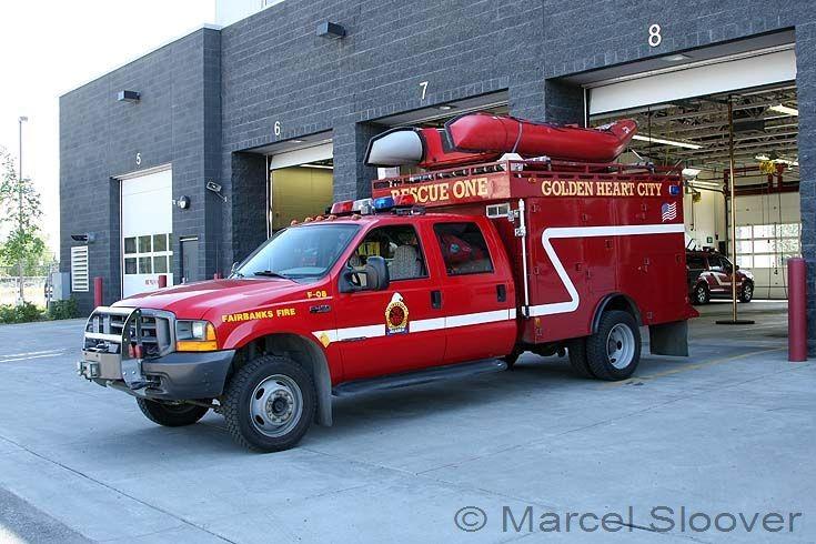 Rescue One Fairbanks Fire dept AK