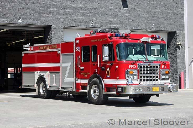 Fairbanks Fire dept AK Spartan Gladiator Engine