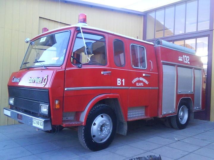 Camiva Berliet - 1985