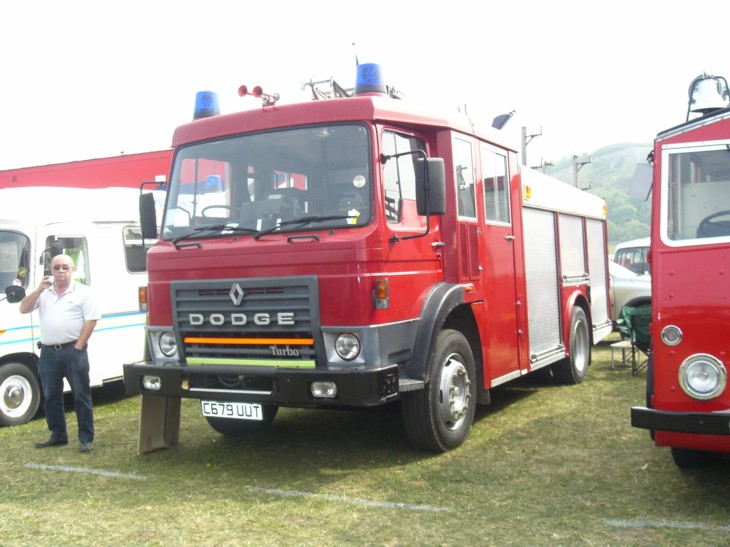 Dodge Fire appliance at North Wales show