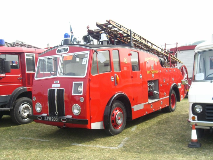 LFM 200 Fire Appliance North Wales show