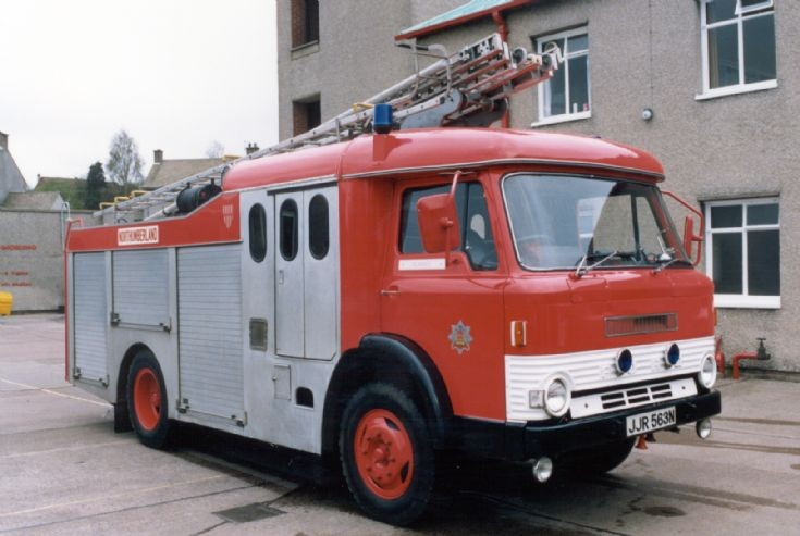 Northumberland Fire Brigade Ford Rescue Pump