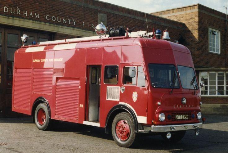 Durham CFB Bedford Emergency Tender GPT235H
