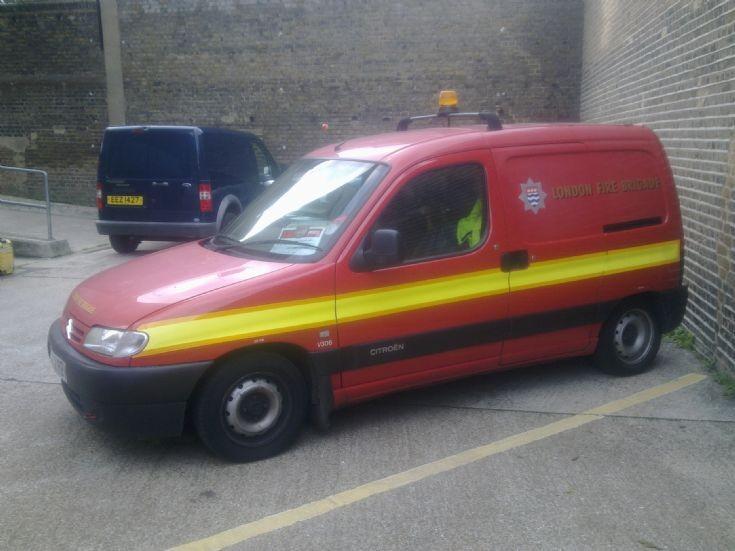 London Fire Brigade Citroen Van, 2002