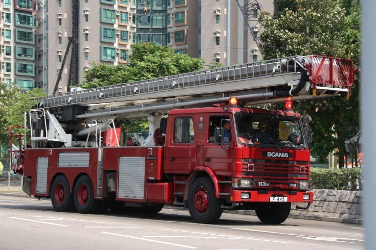 Scania Simon Snorkel in Hong Kong