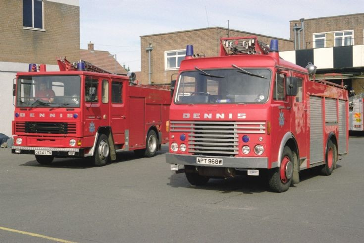 Dennis old and new Durham 1996.