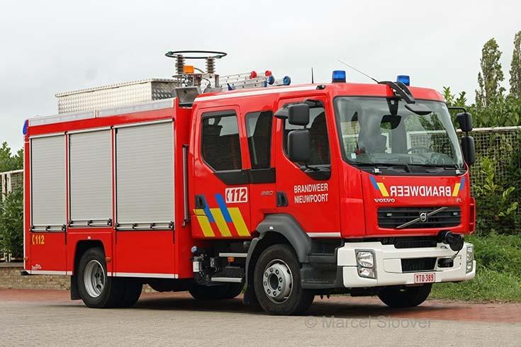 Brandweer Nieuwpoort Volvo Rescue truck