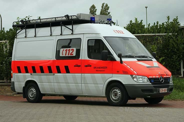 Brandweer Nieuwpoort Mercedes Sprinter