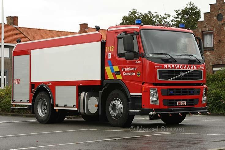 Brandweer Oostduinkerke Volvo FM water carrier