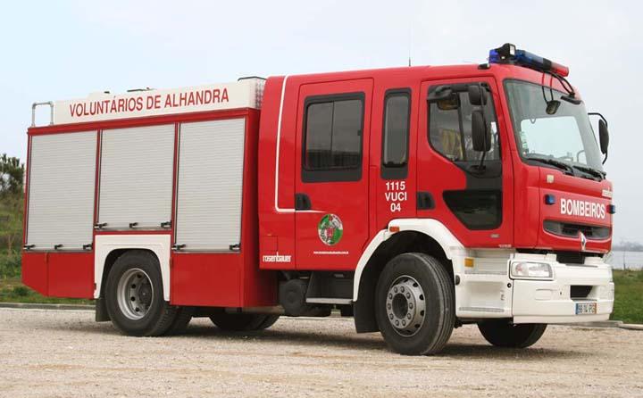 Renault Premium Bombeiros de Alhandra Portugal