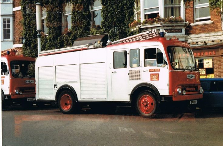 Weymouth Water ladder. Bedford/HCB Angus