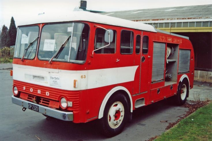 Fire Engines Photos New Zealand Ford Dp2320