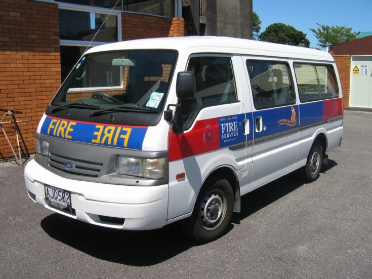 New Zealand Ford - AJD502