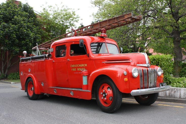fire engines photos new zealand ford colonial motor company