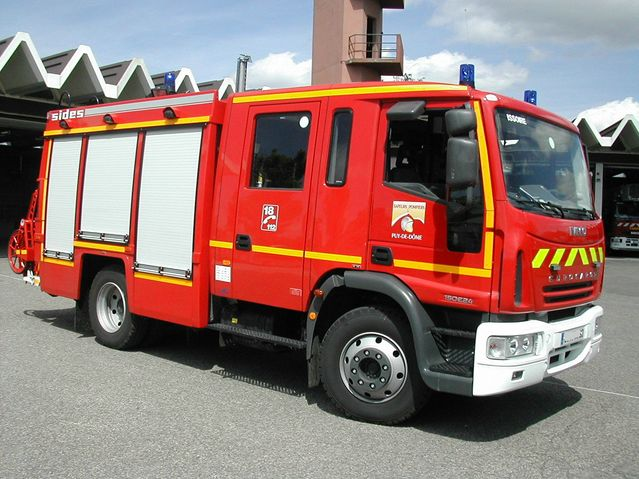 French Pumper Iveco Sides
