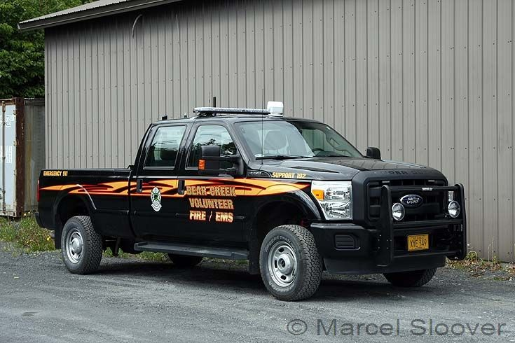 Bear Creek Fire Ford support 192