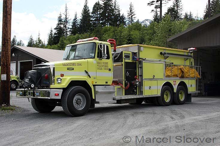 Bear Creek Fire Tanker 124