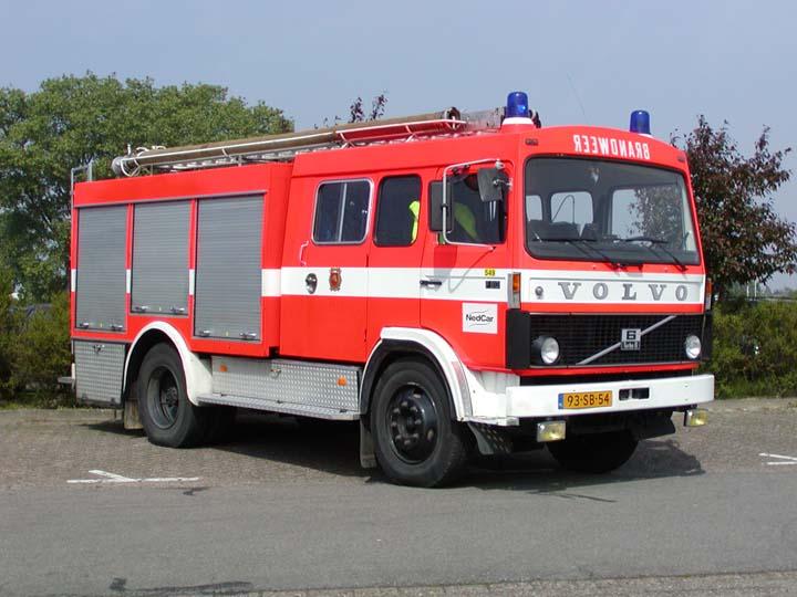 Nedcar Volvo Works Fire Brigade Nedcar Born