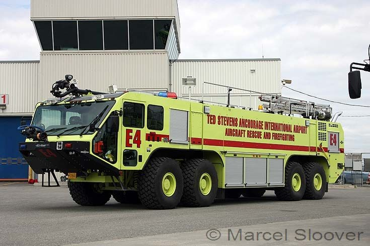 Oshkosh 4500 Anchorage Airport Engine 4
