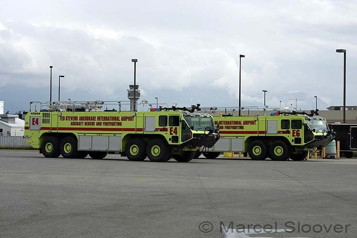 Engine 4 and Engine 6 Anchorage Airport Oshkosh