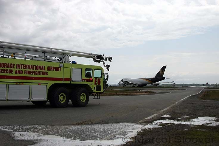 Oshkosh Striker 4500 engine 6 Ted Stevens Airport