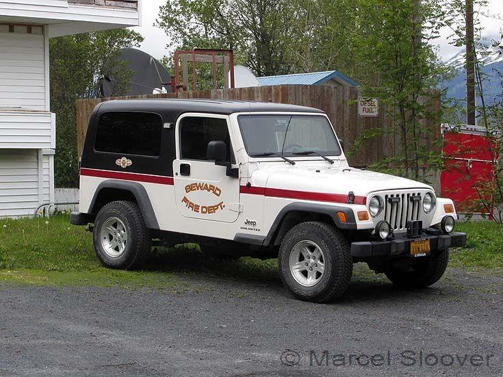 Jeep Seward Fire department Alaska