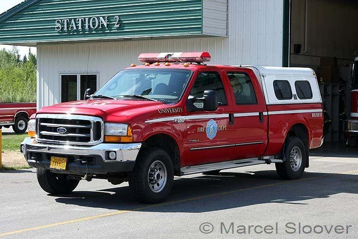 Brush 13 University Fire dept Ford