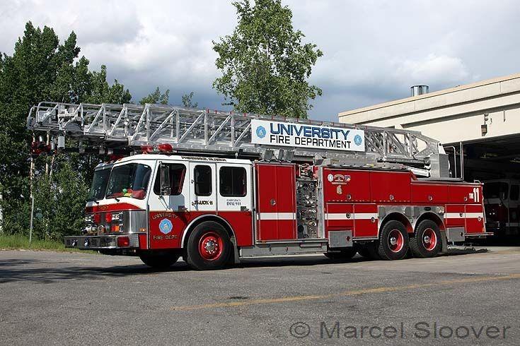 University Fire dept Fairbanks E-One Truck