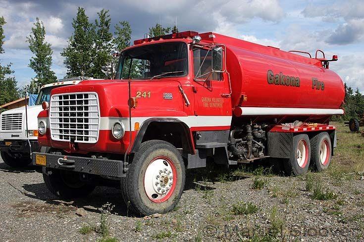 Ford 9000 Tanker Gakona Fire Dept