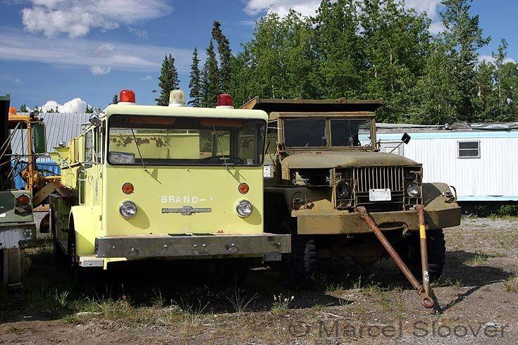 Old ALF on a scrapyard Gakona Alaska
