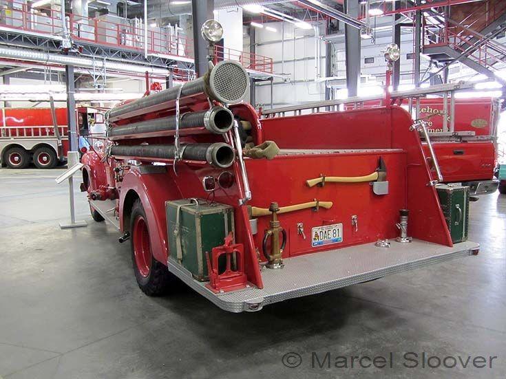 Oldtimer Chevrolet Bickle Seagrave Whitehorse