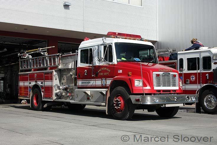 Pierce pump Engine 2 Anchorage Fire department