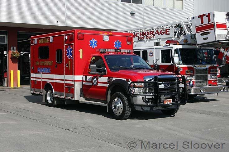 Medic 1 Anchorage Fire dept Alaska Ford