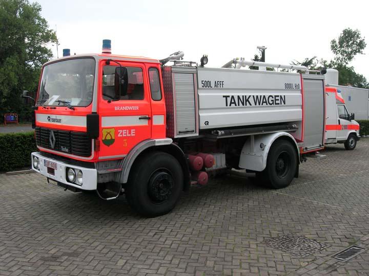 Fire brigade Zele Renault Watertanker